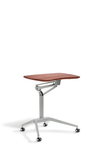 "27"" Stand Up Adjustable Desk w/ Cherry Top"