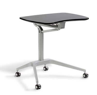 "27"" Stand Up Adjustable Desk w/ Espresso Top"
