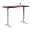 "72"" Meeting Table with Adjustable Height and Finish Options"