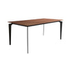 "71"" Classic American Walnut Executive Desk"