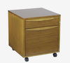 Premium Locking Mobile File in Espresso, Cherry, Maple, or Teak