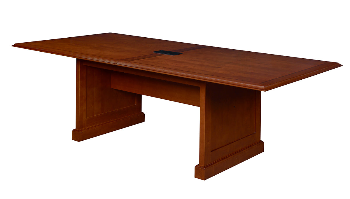 Premium Cherry Veneer Rectangular Conference Table OfficeDeskcom - 120 conference table