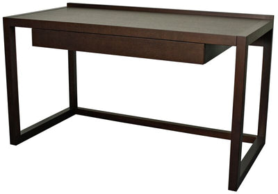 "Striking Modern 54"" Office Desk of African Teak"