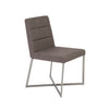 Understated Padded Dark Gray Guest or Conference Chair (Set of 2)