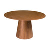 Modern Round American Walnut Veneer Meeting / Conference Table