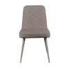 Classic Comfortable Dark Gray Guest or Conference Chair (Set of 2)