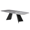 "94"" Conference Table with Ceramic Marble-Pattern Top"
