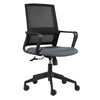 Classic Black & Gray Mesh Office Chair