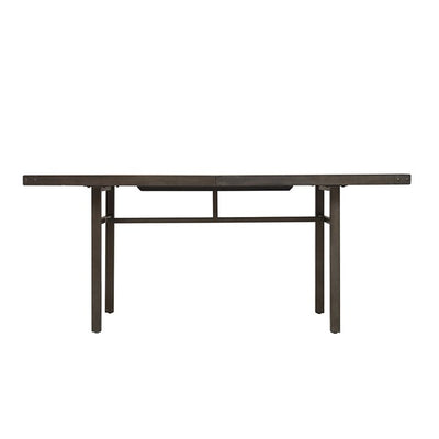 "Modern 72"" Executive Desk or Meeting Table with Unique Concrete Top"