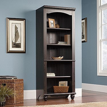 "Cottage Style 72"" Bookcase in Antique Painted Finish"