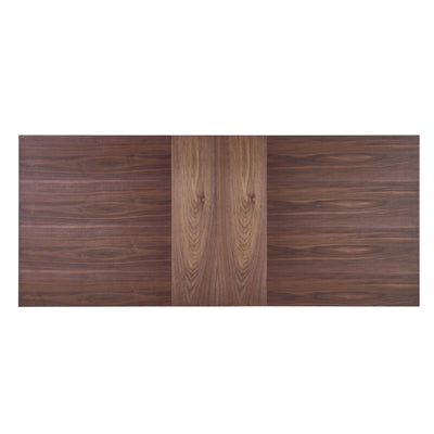 "63"" Classic Extending Executive Desk or Conference Table w/ Walnut Veneer"