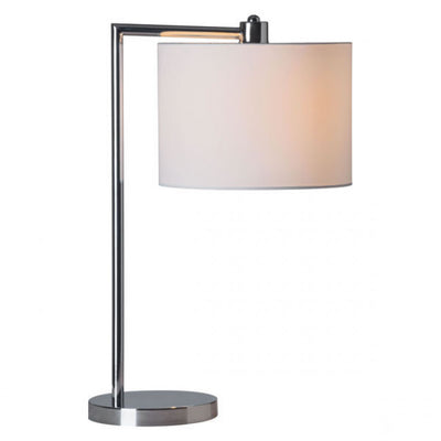 Everyday Simple Chrome Office Table Lamp