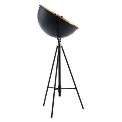 Vintage Style Gold & Antique Black Office Floor Lamp