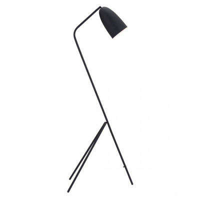 Unique & Sleek Tripod-Style Office Floor Lamp in Black