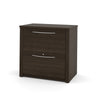 "66"" Double Pedestal Executive Desk in Dark Chocolate"