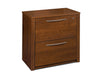"36"" Elegant Pre-Assembled Lateral File in Tuscany Brown (Ships Assembled!)"