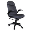 Big and Tall High Density Foam Office Chair in Black or Gray