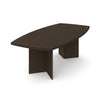 "Premium 95"" Contemporary Wood Conference Table in Dark Chocolate"