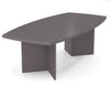 "Premium 95"" Contemporary Wood Conference Table in Slate"
