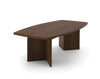 "Premium 95"" Contemporary Wood Conference Table in Chocolate"