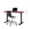 "Bordeaux 48"" Office Desk with Electric Height Adjustment from 28"" - 45"""