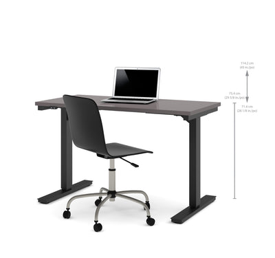 "Slate 48"" Desk with Electric Height Adjustment from 28"" - 45"""