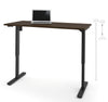 "60"" Office Desk in Tuxedo Finish with Electric Height Adjustment from 28 - 45"""