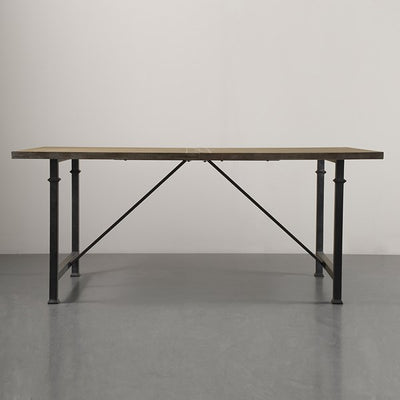 "Modern 72"" Reclaimed Grey Executive Desk / Meeting Table"