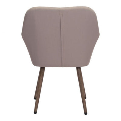 Stylish Taupe Padded Guest or Conference Chair