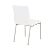 Contemporary Comfortable White Guest or Conference Chair (Set of 2)