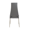 Striking Gray Chimney-Style Guest or Conference Chair (Set of 4)
