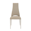 Striking Taupe Chimney-Style Guest or Conference Chair (Set of 4)