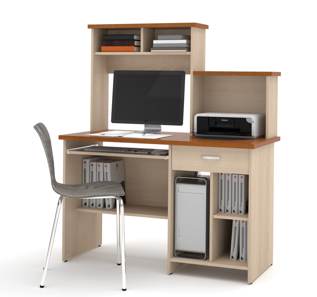 Active Collection Copper Cherry & Maple Workstation