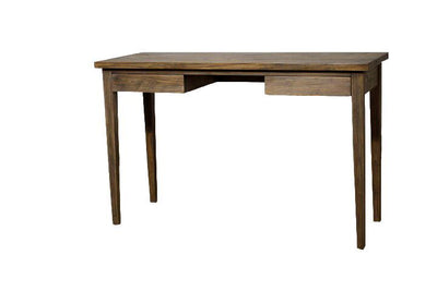 "47"" Compact Mindi Wood Office Desk w/ Coffee Glaze"