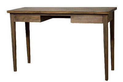 "47"" Compact Mindi Wood Console Table w/ Coffee Glaze"