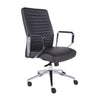 Executive Dark Gray Padded Office Chair
