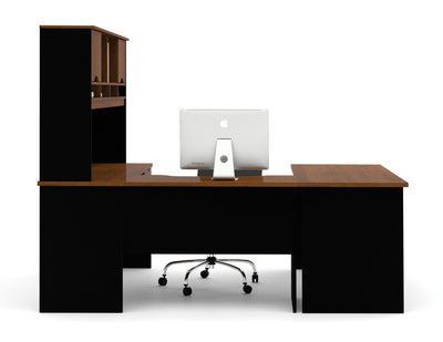 Innova Collection U-Shaped Workstation with Hutch