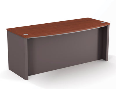 "71"" Premium Bowfront Executive Desk (Color Options)"