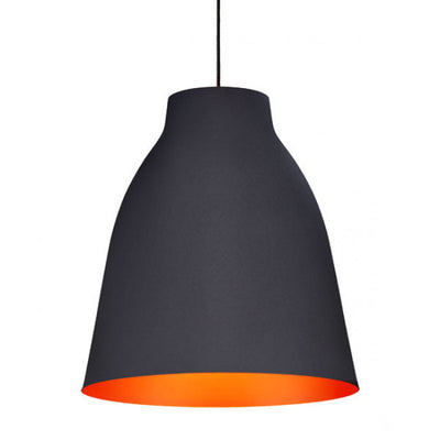 Black & Orange Hanging Ceiling Lamp