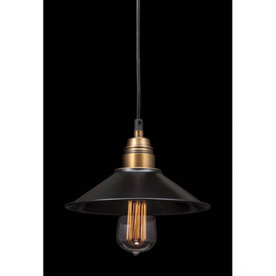 Antique Black Gold Ceiling Lamp