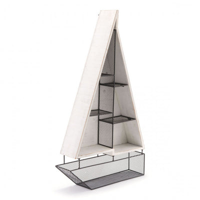 Wall Hanging Shelf in Boat Design
