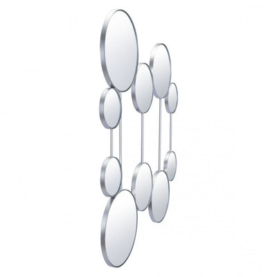Clear Multi-Mirrored Unit w/ Silver Frame