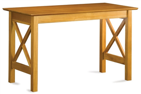 Lexington Collection Solid Wood Work Table in Caramel Latte