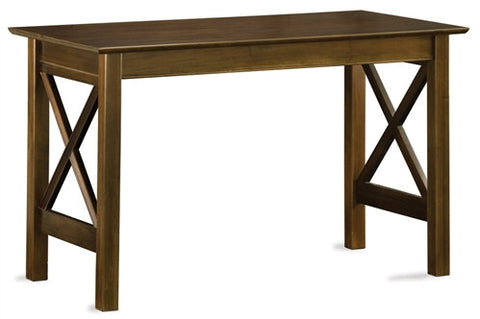 Lexington Collection Solid Wood Work Table in Antique Walnut
