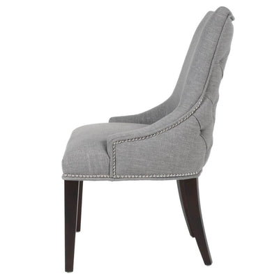 Stylish Smoky Grey Guest or Conference Chair