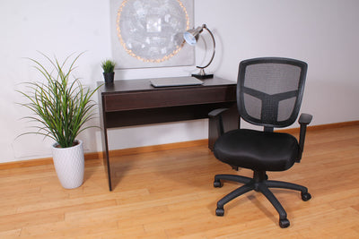 Breathable Mesh & Foam Black Office Chair