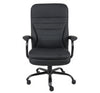 Sturdy Padded Black Office Chair for Big & Tall
