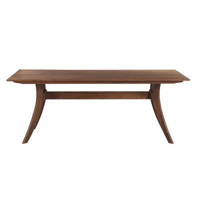 "Rectangular 63"" Solid American Walnut Executive Desk"