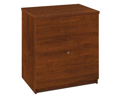 "Embassy 66"" Executive Desk in Tuscany Brown or Cappuccino Cherry"