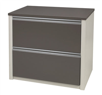"71"" x 83"" L-Shaped Desk with Oversized Pedestal & Color Option"